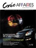 Corée Affaires n.72 – Le marché de l'automobile